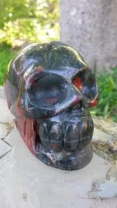 Bloodstone skull--Triumph